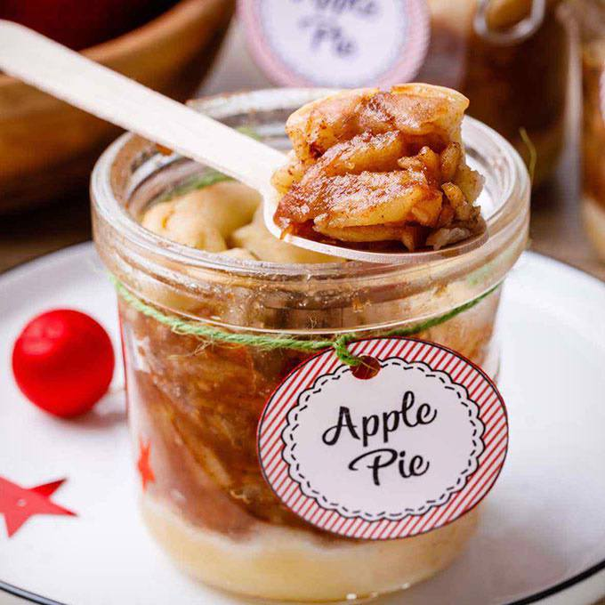 The Best Homemade Apple Pie In a Jar