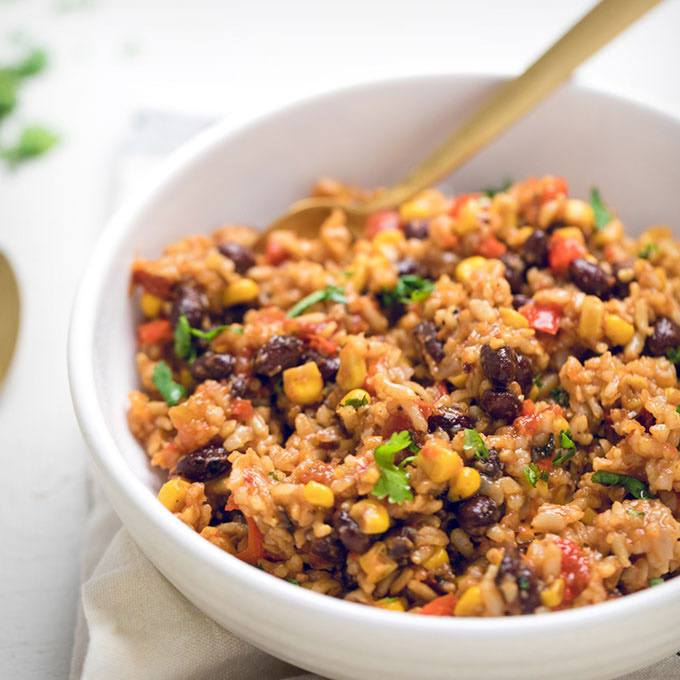 Vegan Instant Pot Tex-mex Rice