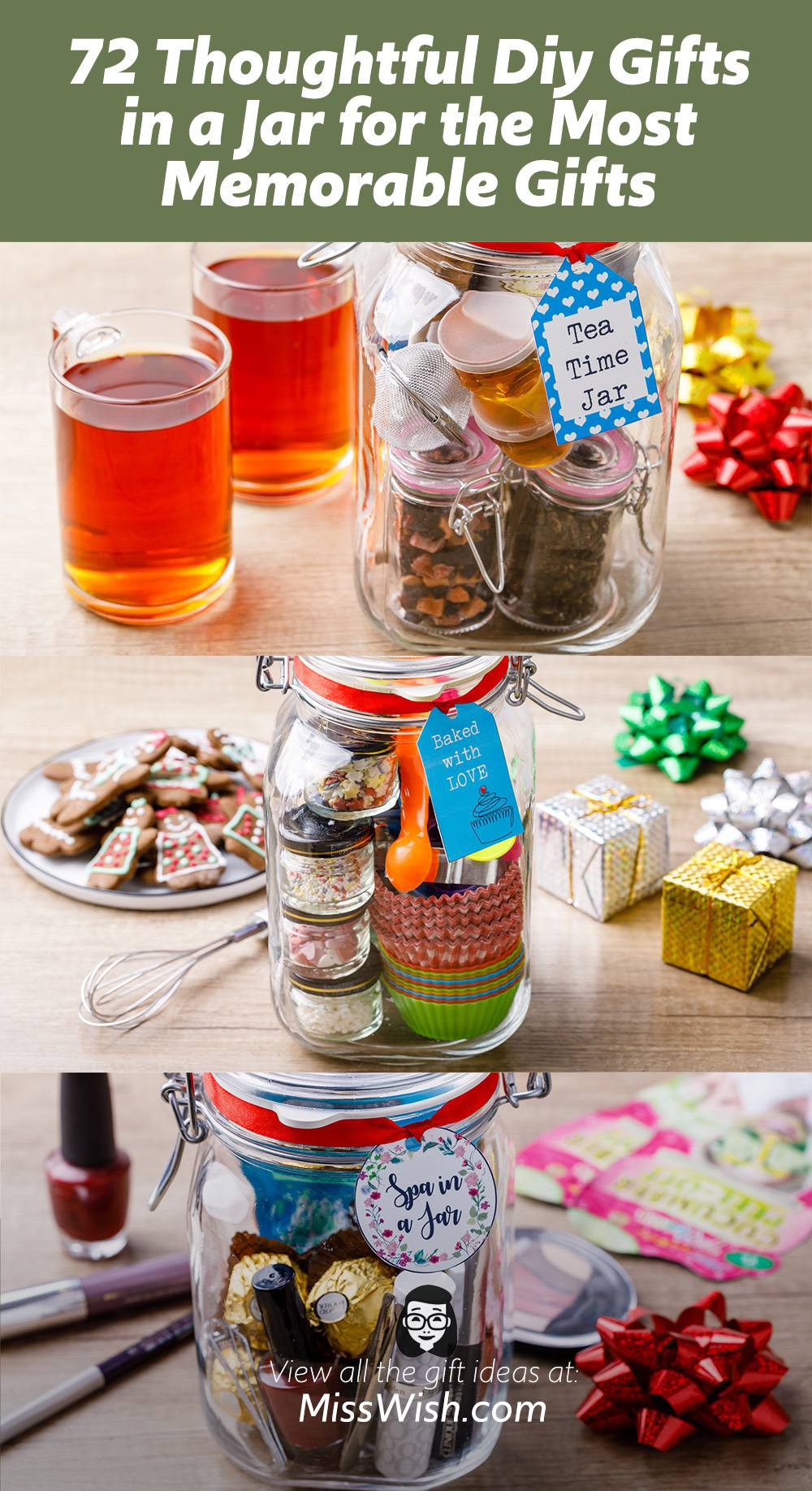 72 Thoughtful Diy Gifts in a Jar for the Most Memorable Homemade Gifts