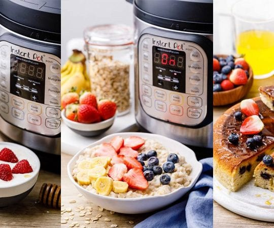 Instant Pot Breakfast Recipes