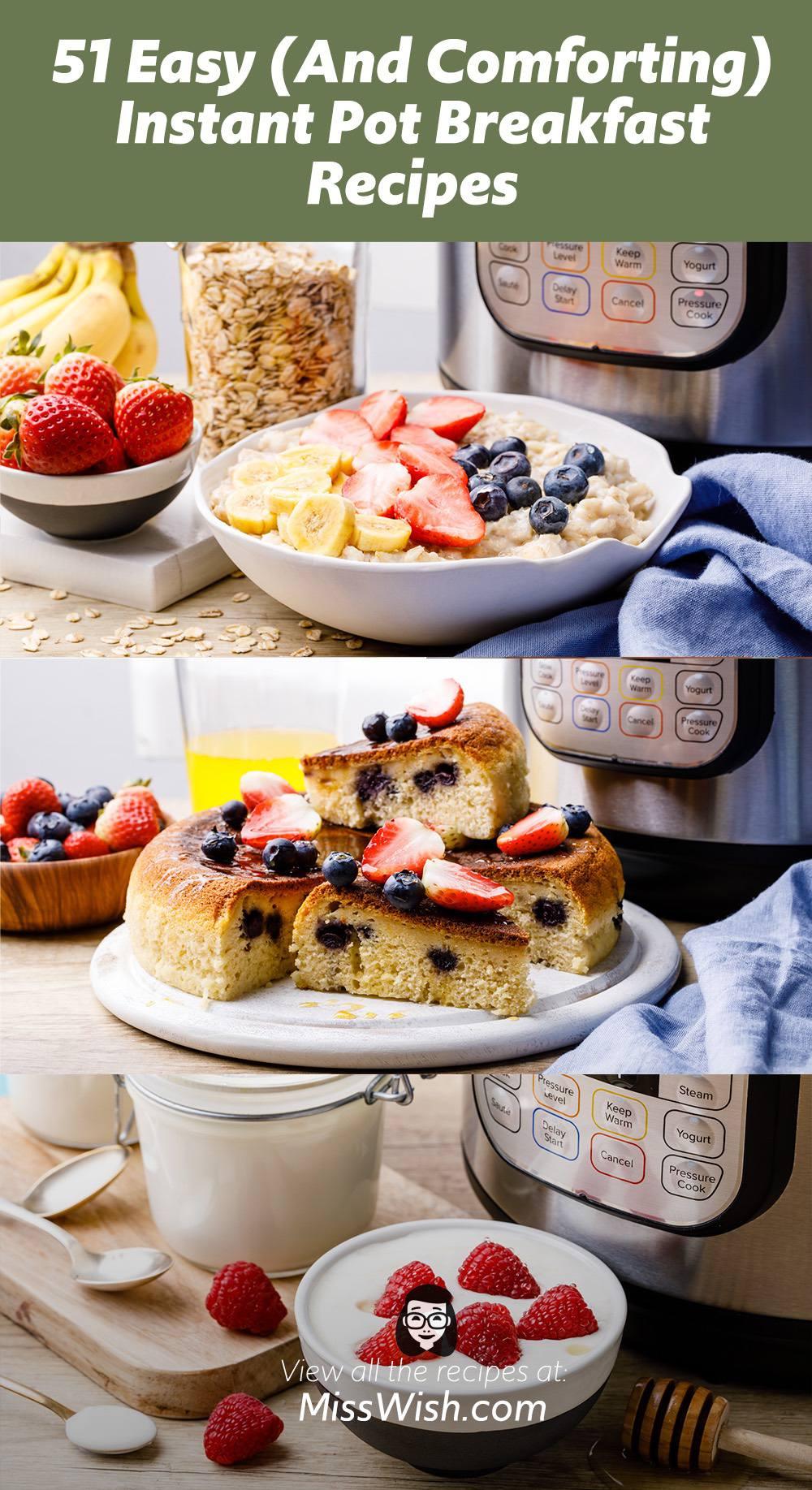 51 Easy Instant Pot Breakfast Recipes