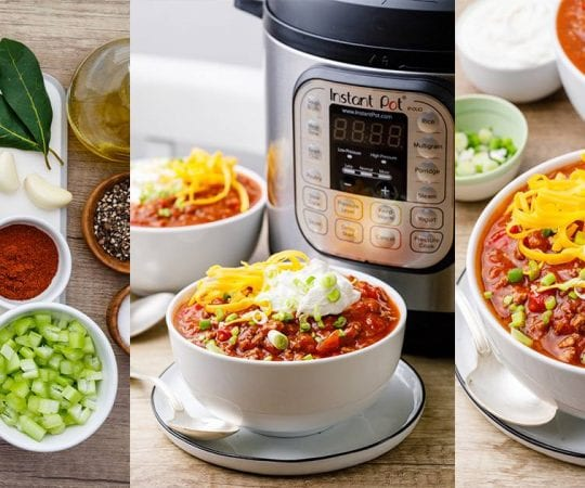 Instant Pot Chili Recipes