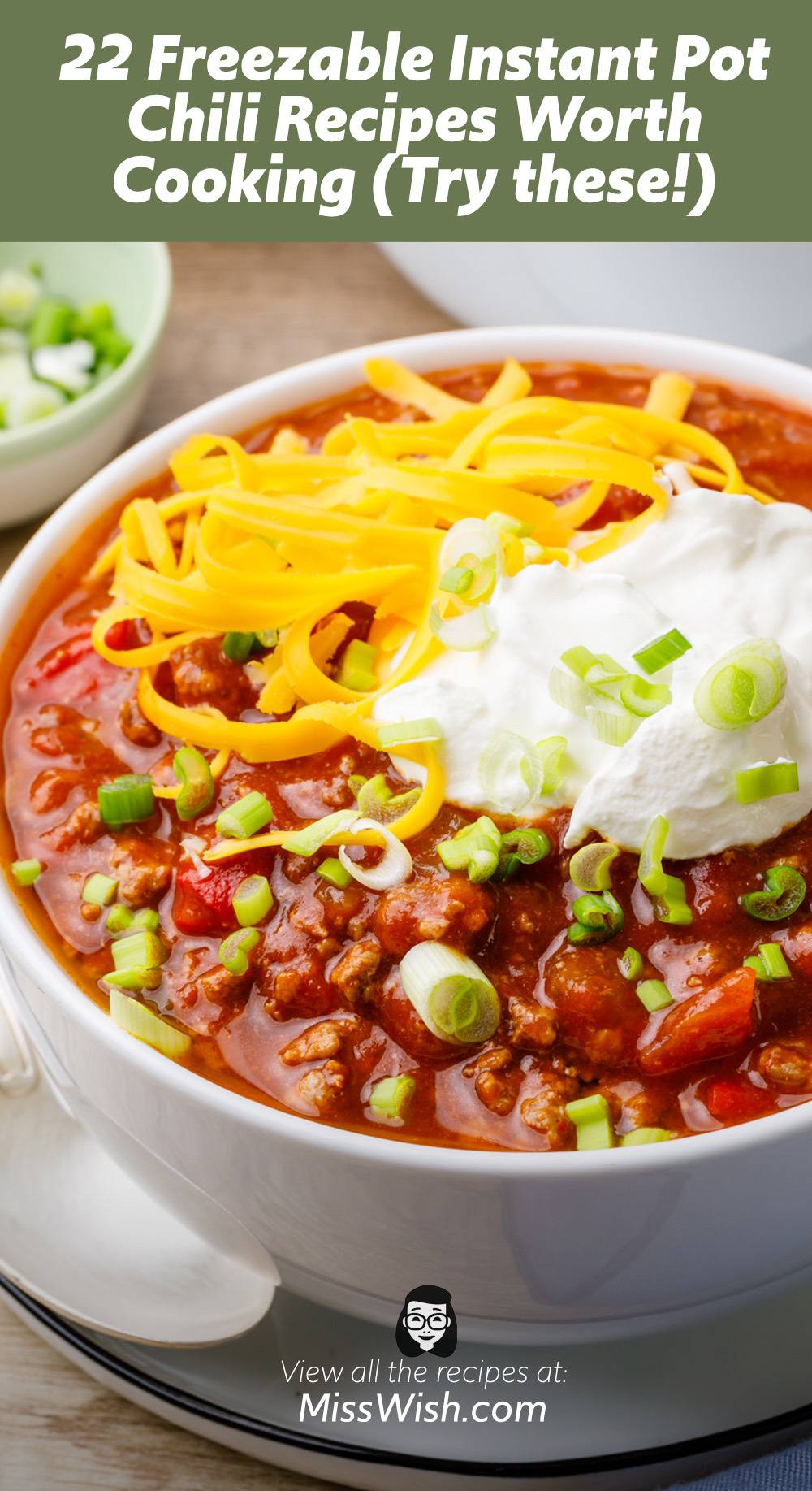 22 Freezable Instant Pot Chili Recipes Worth Cooking
