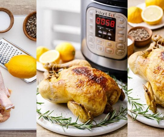 Instant Pot Whole Chicken Recipes
