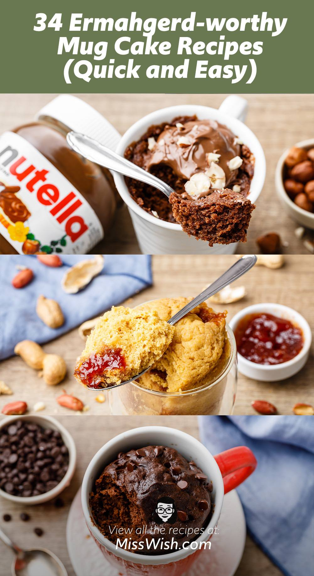 34 Ermahgerd-worthy Mug Cake Recipes (Quick, Easy and ...