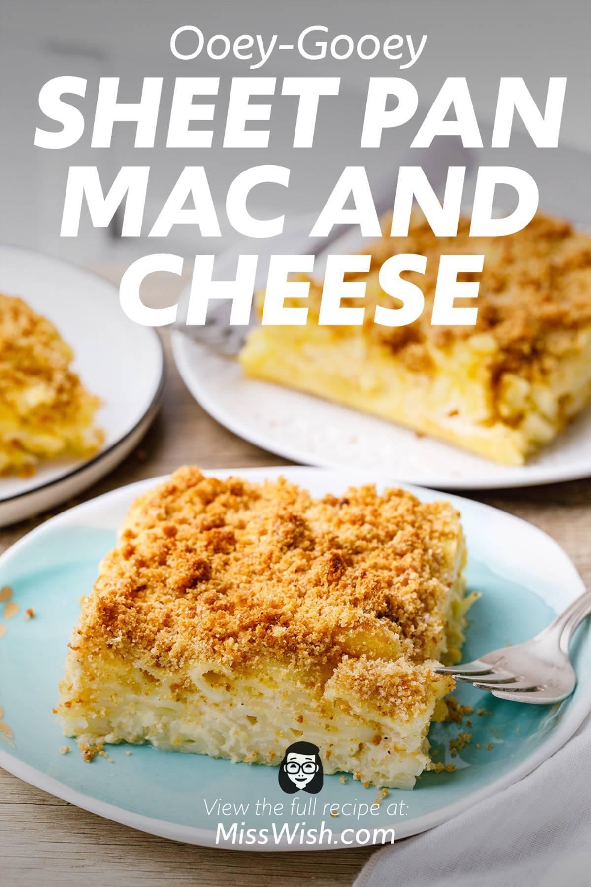 Ooey-Gooey Sheet Pan Mac And Cheese