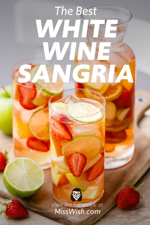 Easy 7-Ingredient White Sangria Recipe