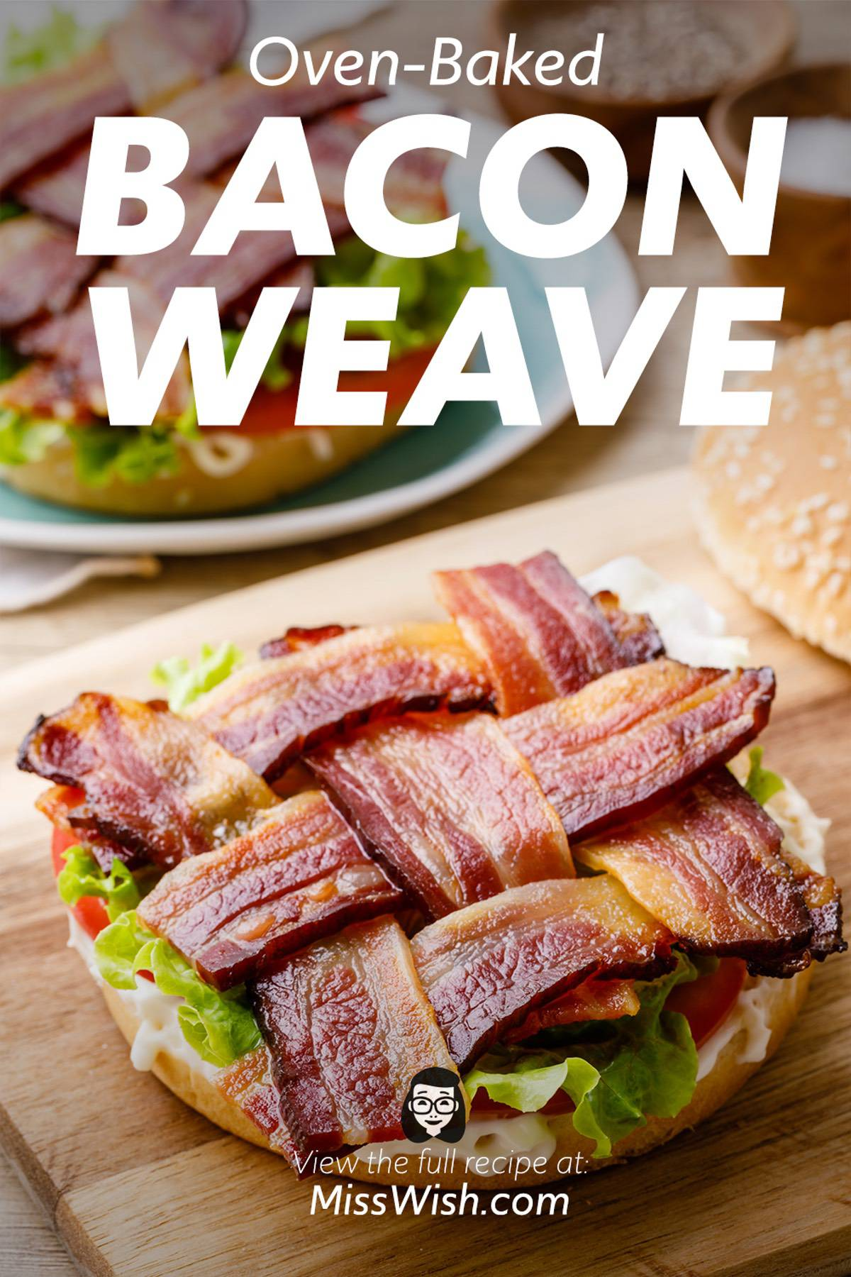 Easy Oven-Baked Bacon Weave