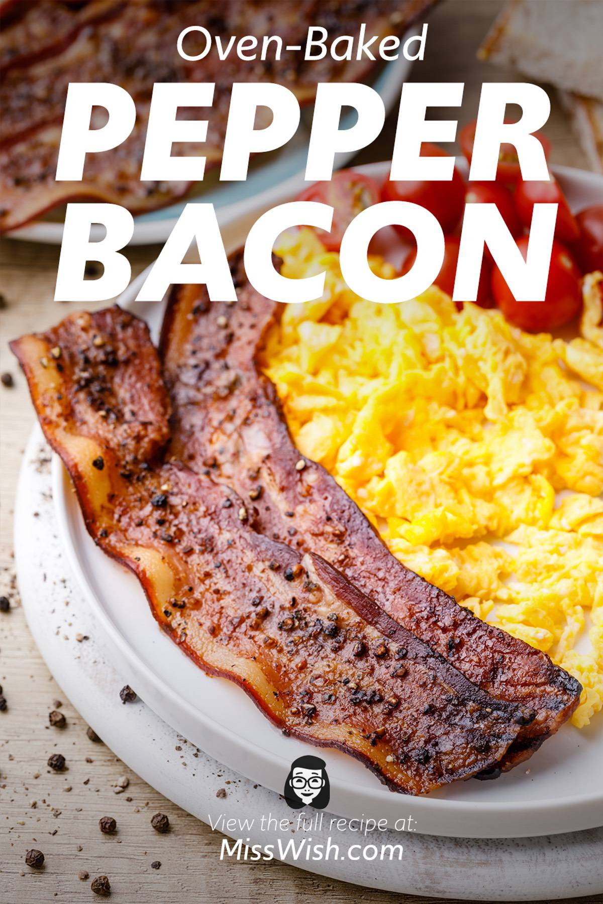 Easy 2-Ingredient Oven-Baked Pepper Bacon Recipe