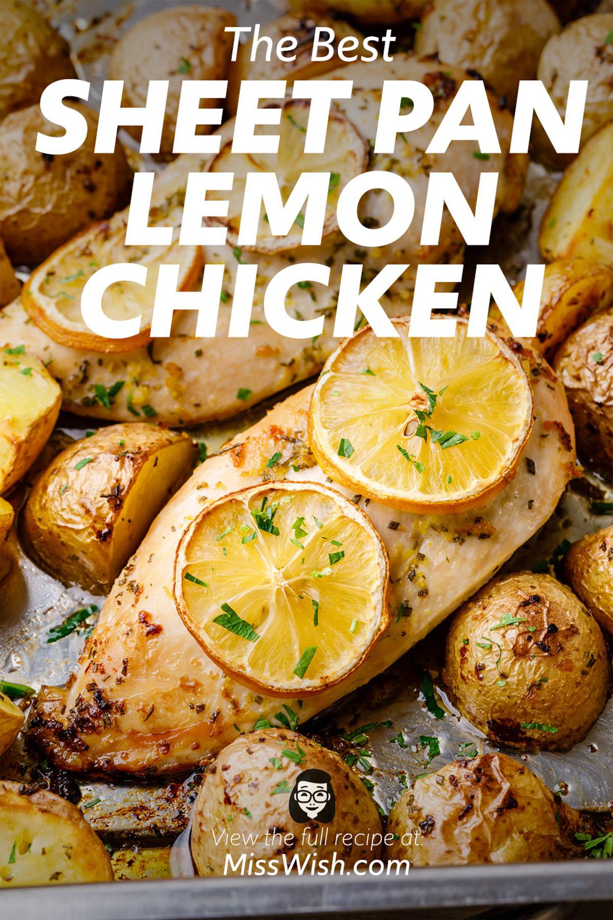 Easy and Healthy Sheet Pan Lemon Chicken