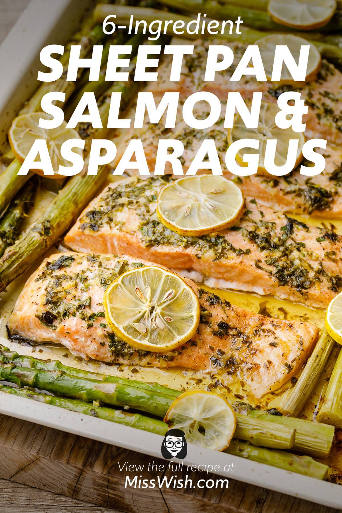 Easy 6-Ingredient Sheet Pan Salmon and Asparagus
