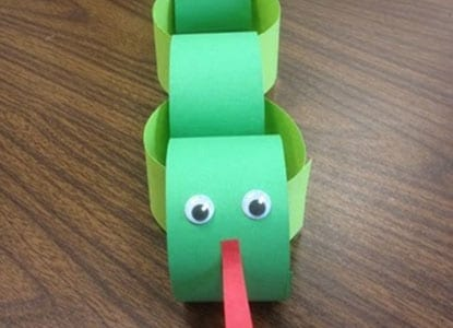 Construction Paper Snake