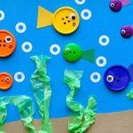 Simple Button Fish Craft