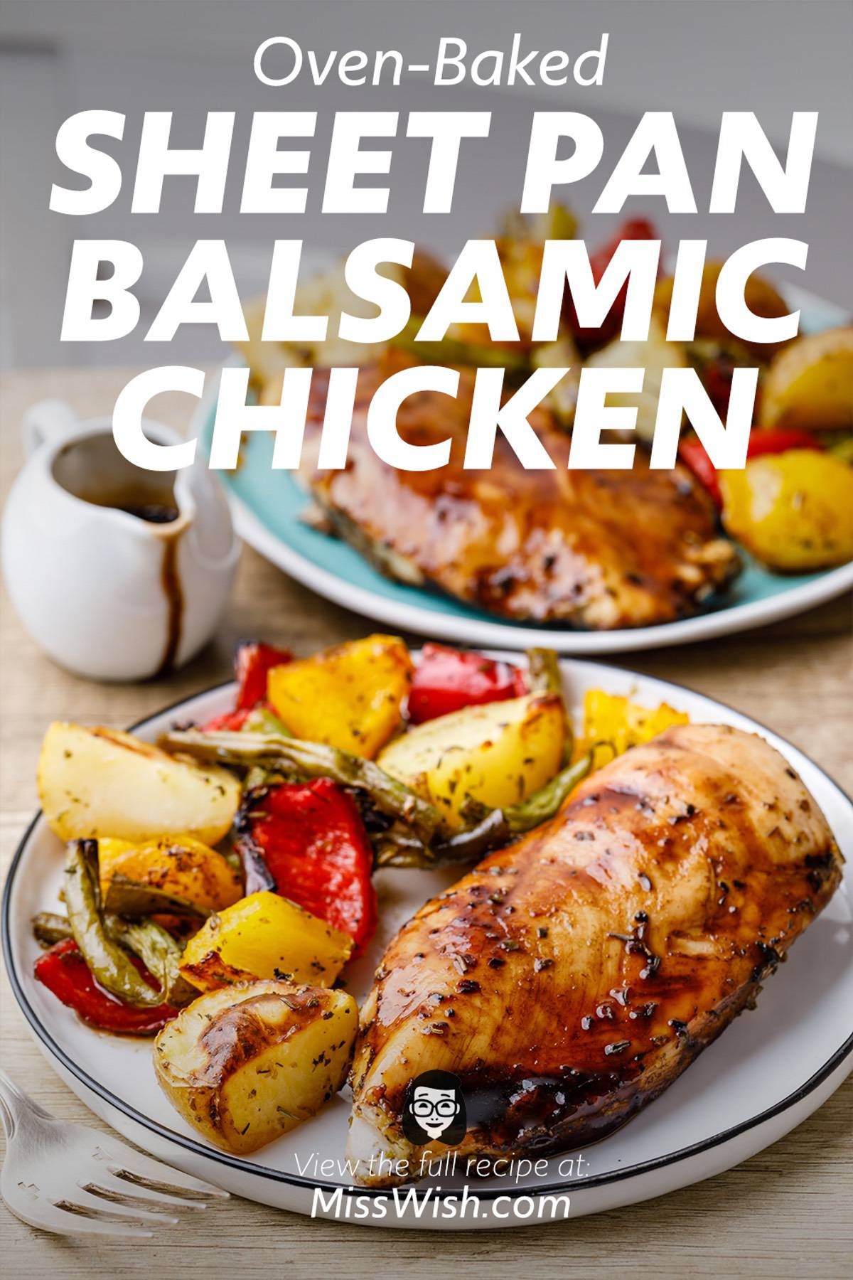 Oven-Baked Sheet Pan Balsamic Chicken for an Easy Meal