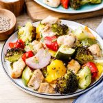 Baked Sheet Pan Chicken And Vegetables Recipe
