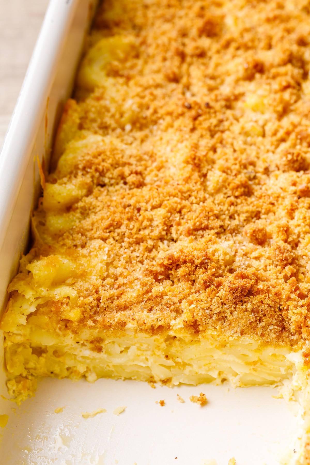 Baked Sheet Pan Mac And Cheese Recipe
