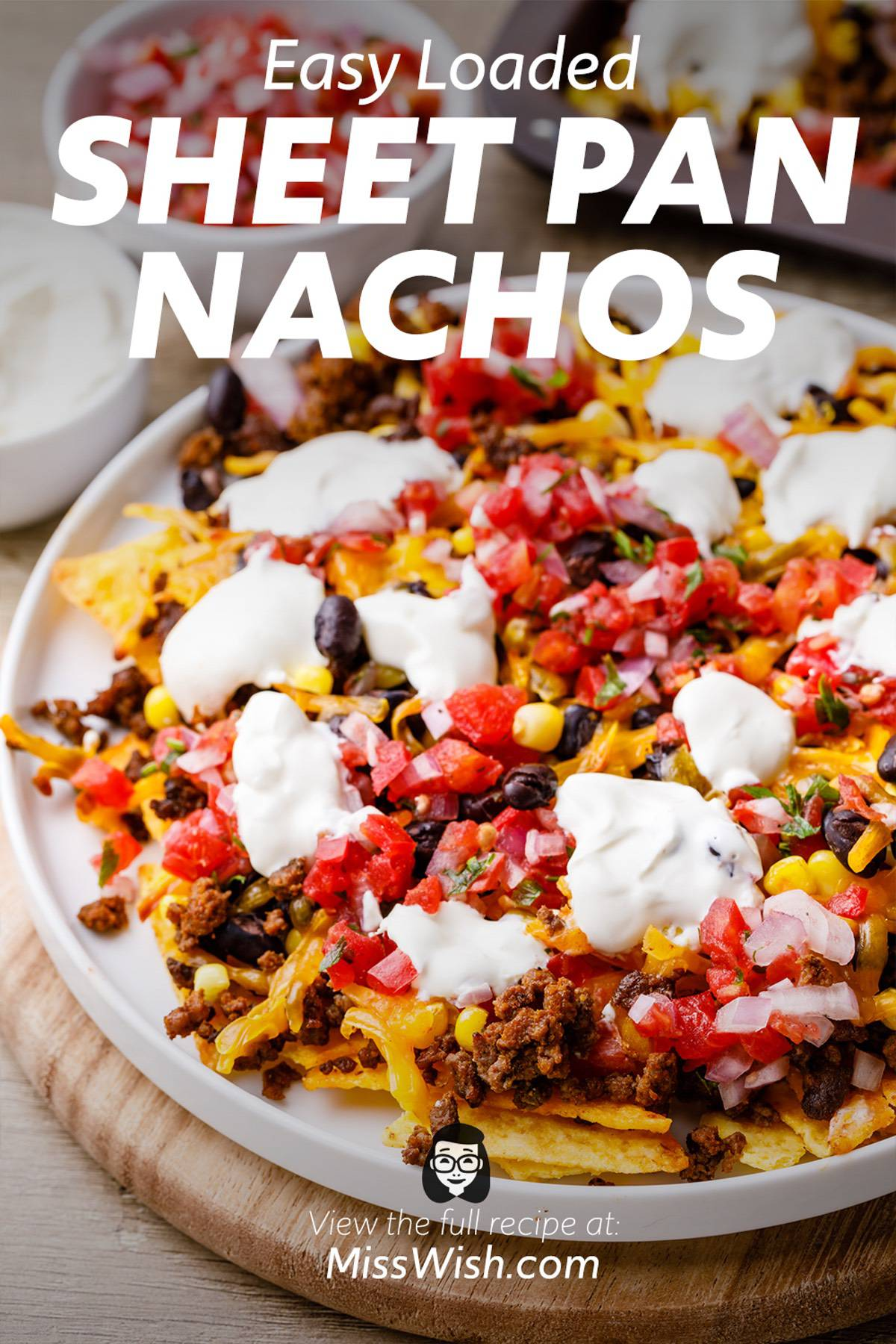 Easy Loaded Sheet Pan Nachos