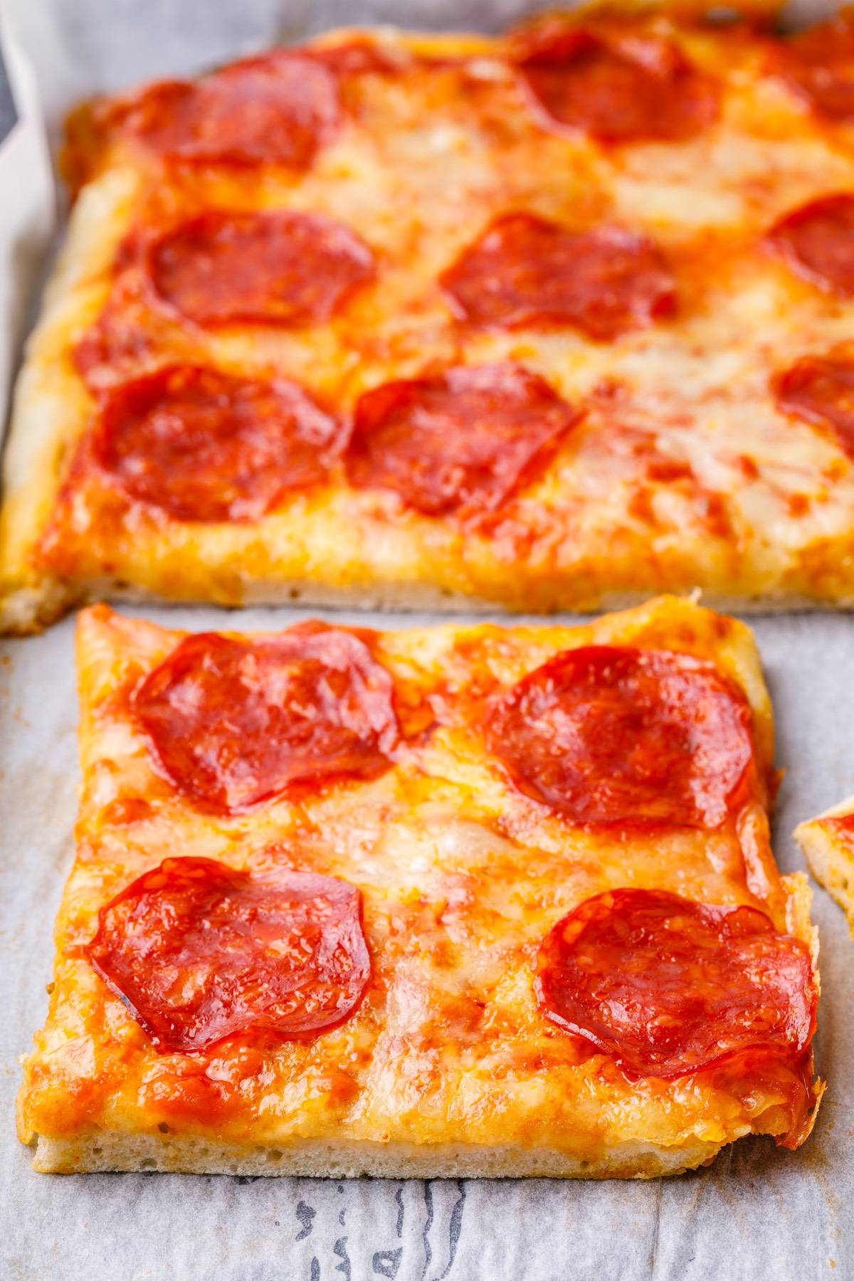 Baked Sheet Pan Pizza Recipe