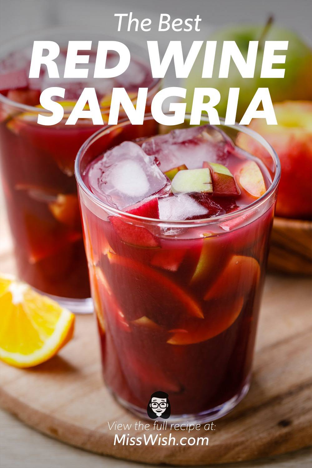 The Best Red Sangria Recipe Ever