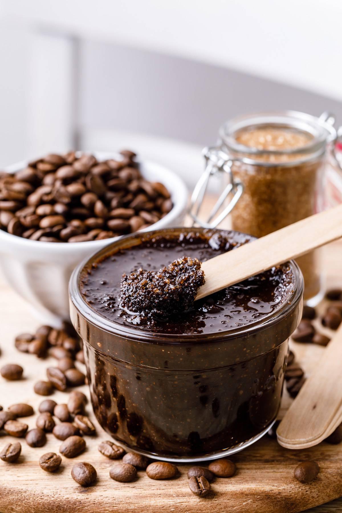 Coffee And Sugar Face Scrub