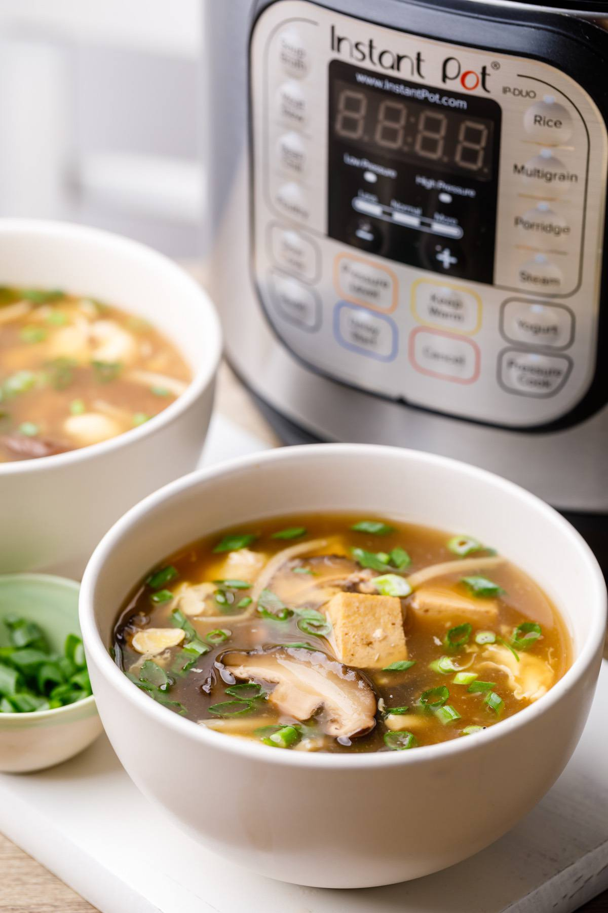 Instant Pot Hot And Sour Soup