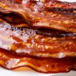 Maple Glazed Candied Bacon In The Oven