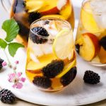 Simple Blackberry White Sangria