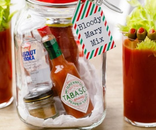 Bloody Mary Mix Gift Kit