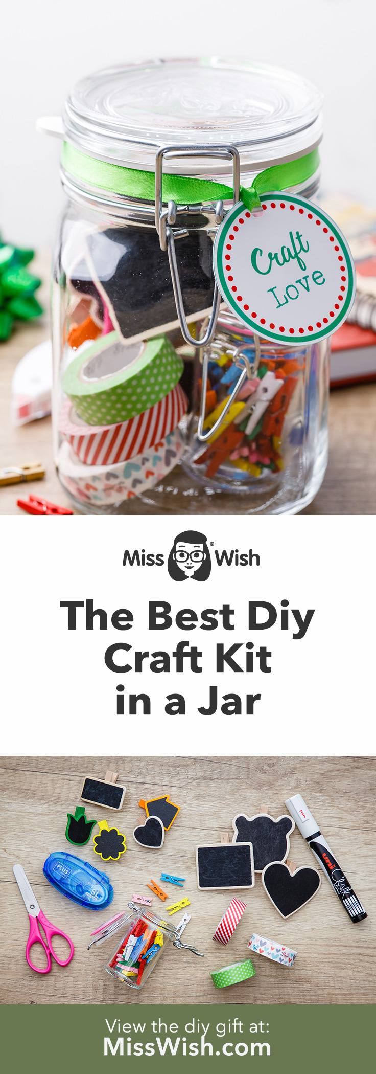 Homemade Craft Kit in a Jar