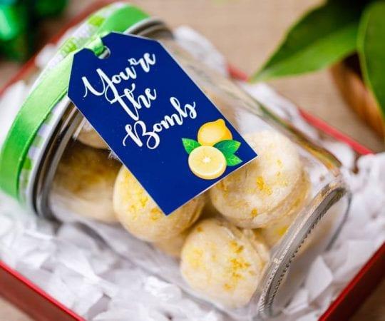 Diy Lemon Vanilla Bath Bombs