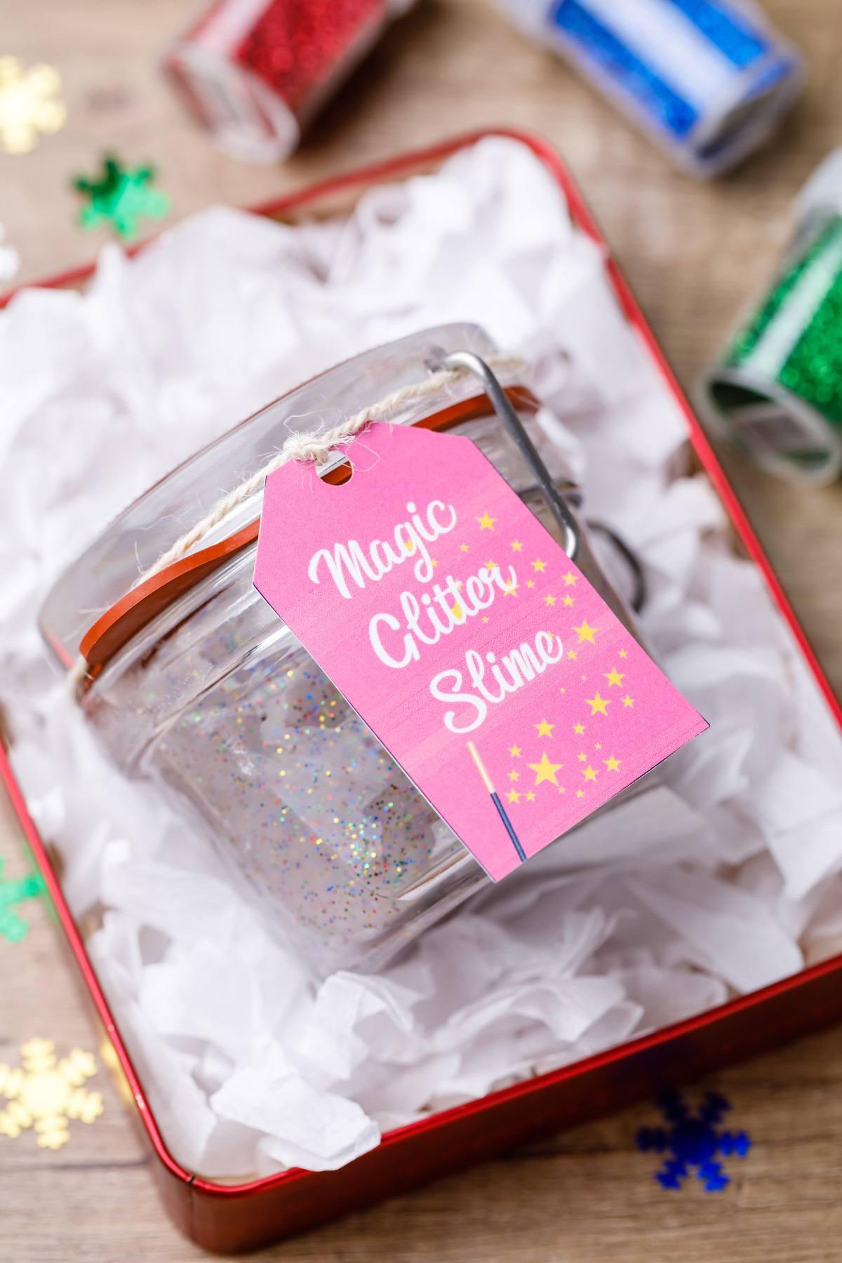 Glitter Slime Gift