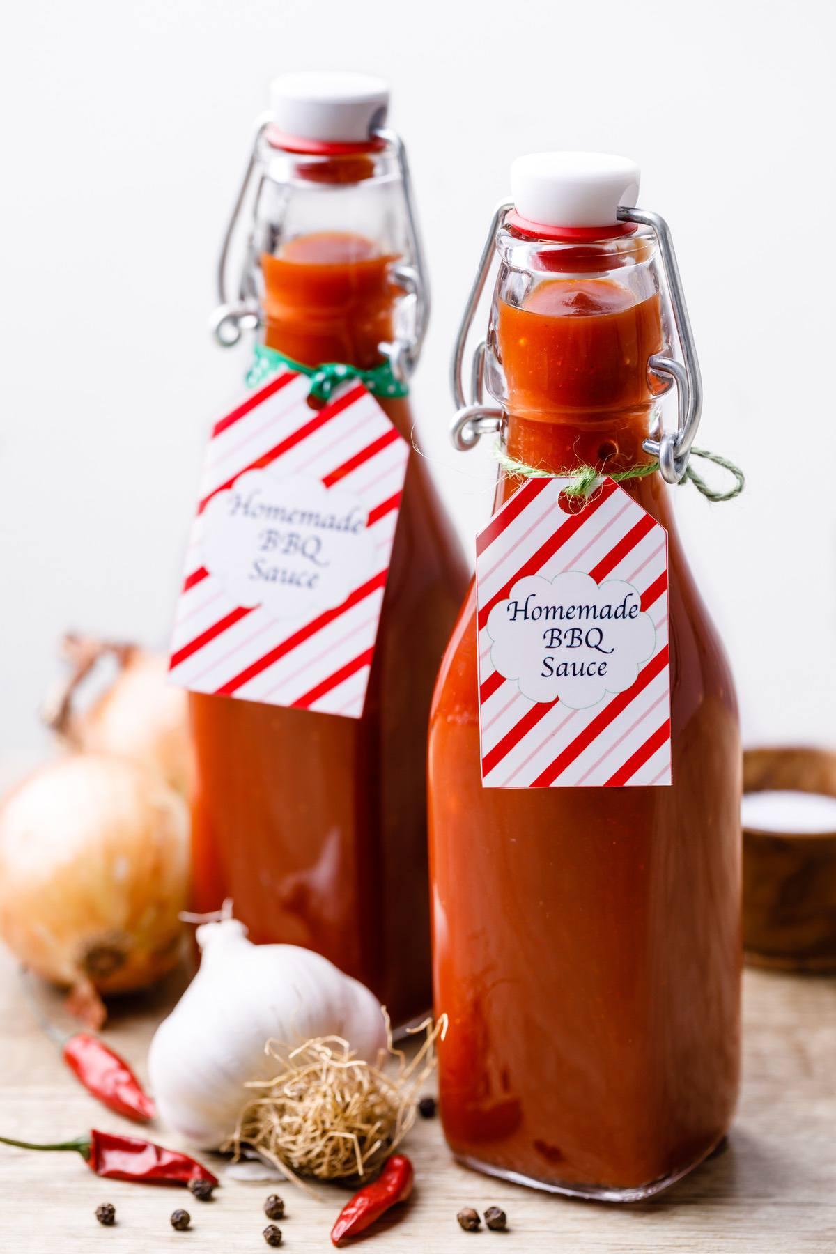 Homemade Bbq Sauce Gift