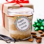 Homemade Sugar Cookie Face Scrub
