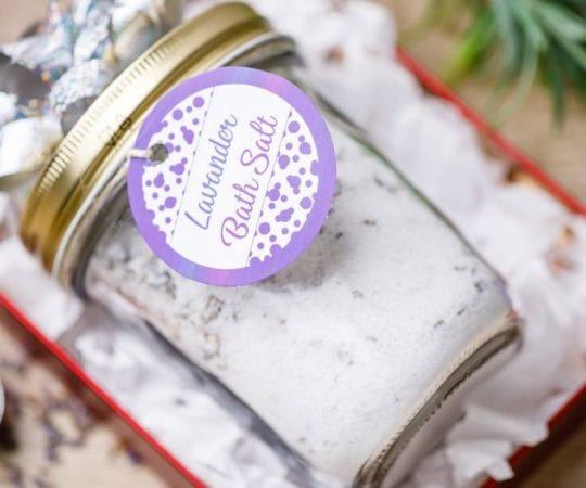 Lavender Epsom Bath Salt Recipe