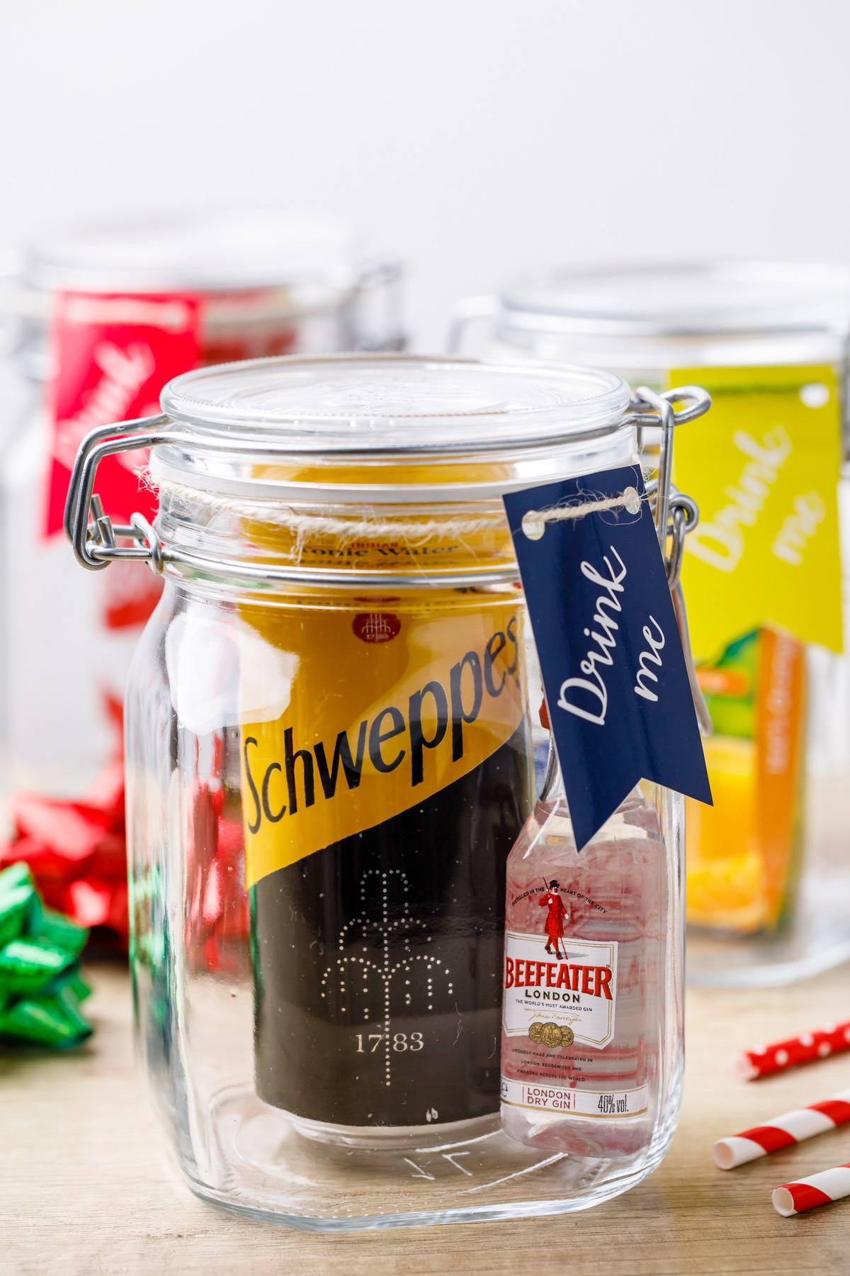 Mason Jar Cocktail Gift Sets