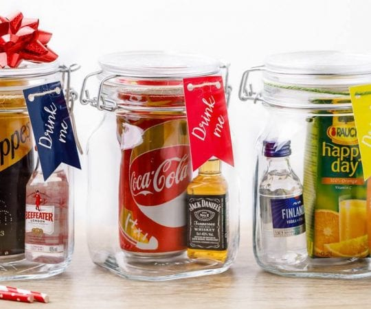 Mason Jar Cocktail Gift Sets