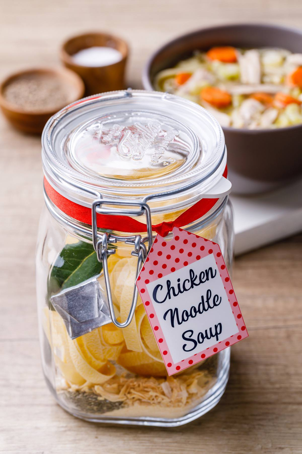 Chicken Soup Mix In A Jar Recipe