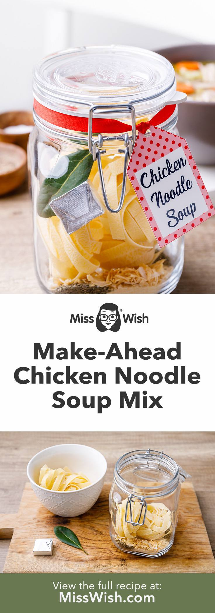 Make-Ahead Chicken Soup Mix in a Jar