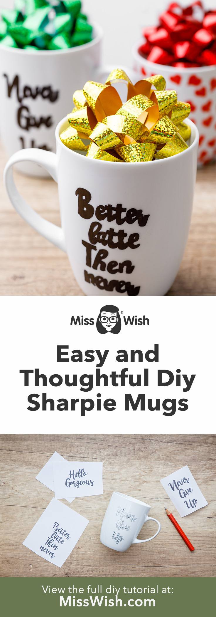 Diy Sharpie Mugs for a Thoughtful Homemade Gift