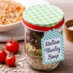 Italian Barley Soup Mix Recipe