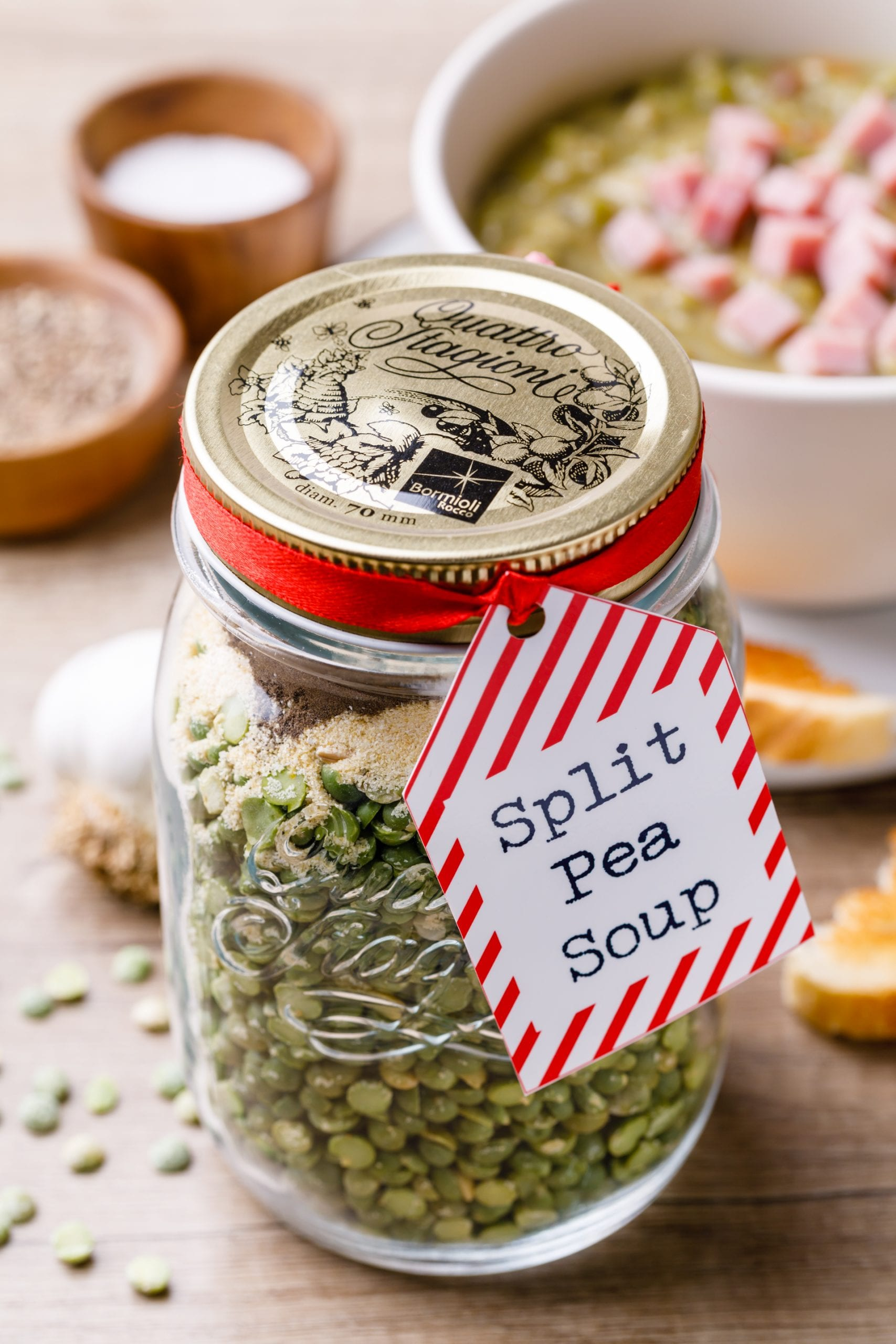 Split Pea Soup Mix Recipe In A Jar